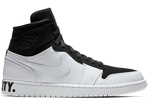 Air Jordan 1 Retro Hi Equality Basketbalschoenen (aq7474-001) Zwart / Zwart-wit