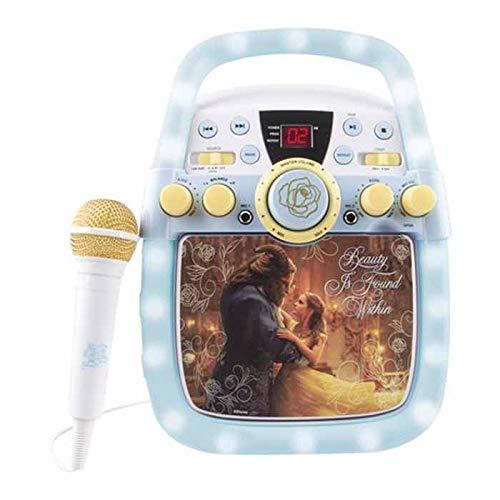 Disney Beauty and the Beast enchanting Karaoke Machine by Sakar (Image #1)