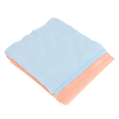 MagiDeal 20 Pieces Microfiber Cleaning Cloth For Phone Screen Camera Lens Eye Glasses ()