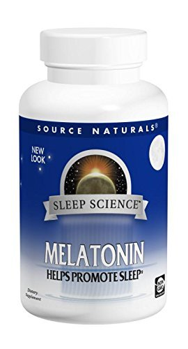 Source Naturals Melatonin, 2.5 Milligrams, Peppermint Flavored, 60 Lozenges Review