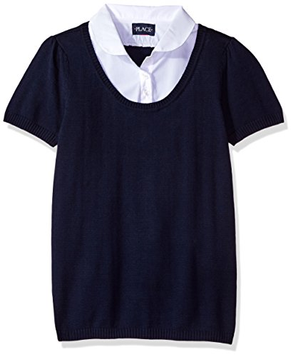 The Children's Place Big Girls' Uniform Sweater and Blous...