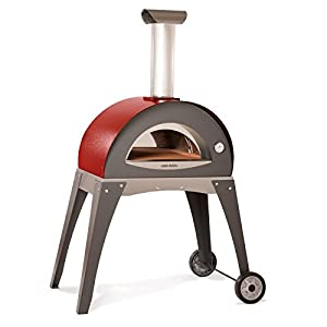 Amazon.com : Forno Ciao Wood Burning Pizza Oven Color: Red
