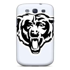 GG Fan Galaxy S3 Hybrid Tpu Case Cover Silicon Bumper Chicago Bears