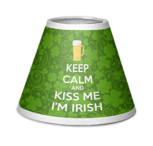 - YouCustomizeIt Kiss Me I'm Irish Chandelier Lamp Shade (Personalized)