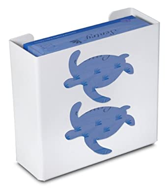 """TrippNT 50857 Priced Right Double Glove Box Holder with Sea Turtle, 11"""" Width x 10"""" Height x 4"""" Depth"""
