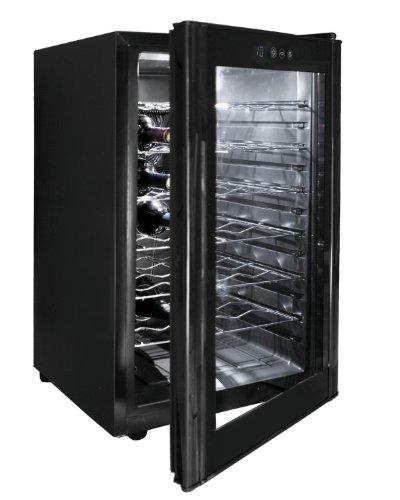 Lacor Black Line 69175 – Armario refrigerador, 28 botellas, 70 W, 65 litros