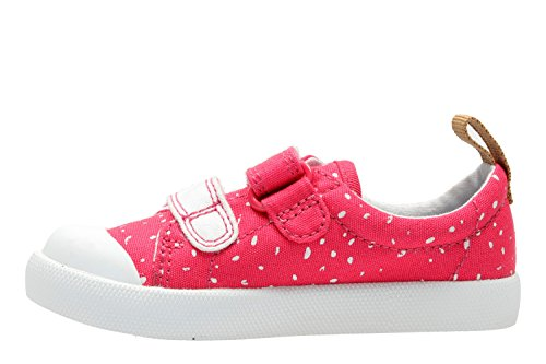 Clarks Halcy Hati Girls First Casual Shoes