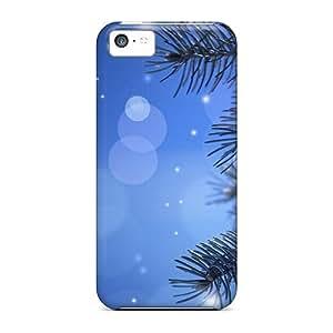 Excellent Design Calm Winter Night Phone Case For Iphone 5c Premium Tpu Case