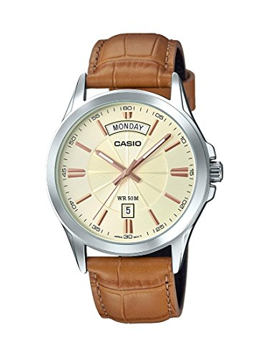 Casio MTP1381L 9AV Classic Leather Watch