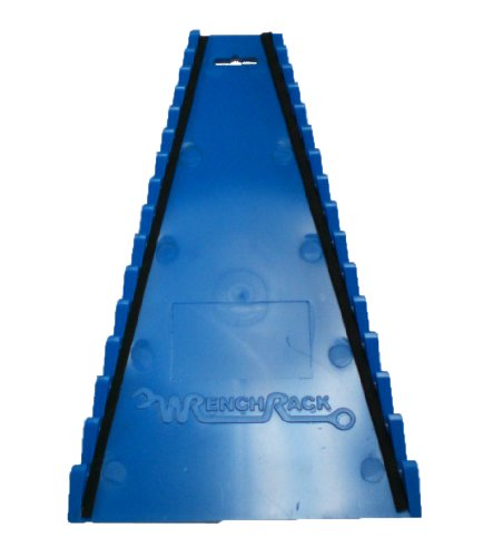 Blue Wrench Rack - Protoco 4070 Wrench Rack, Reverse Blue, 15-Piece