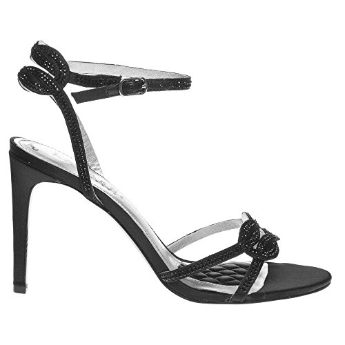 Stephanie Black Lauren Black Lauren by Ralph Sandals ZwWxqAt6