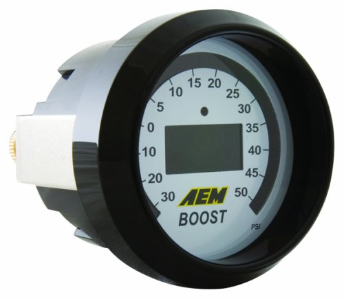 AEM 30-4408 -30-50 PSI Boost Gauge