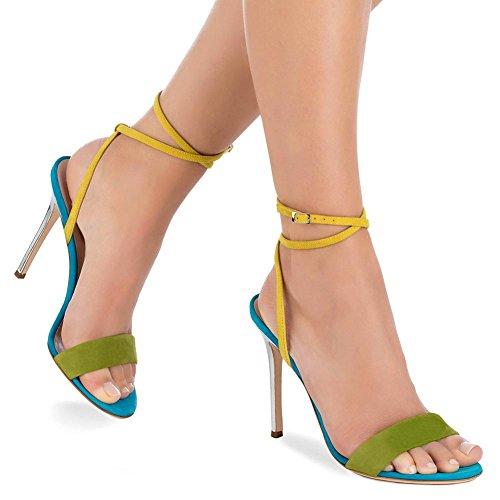 Chaussures Cheville Talons De De Talon De Spell Nuit 1 Aiguille Couleur Robe Femmes Boîte Sexy Partie Sangle Dames Orteil À De Sandales Peep q6wfatPxF