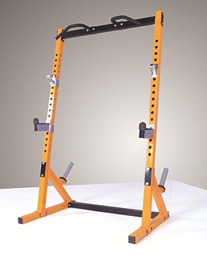 41Lt2KmVPtL - Powertec Fitness Workbench Half Rack