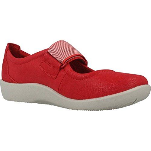 Scarpe Marca Clarks Sillian Colore Cala Per red Donna Rosso Rosso Modello Donna R7qwUxq