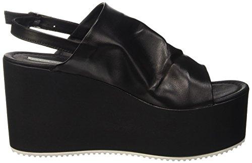 Tosca Blu Pirite - Sandalias con plataforma Mujer Negro - Schwarz (NERO C99)