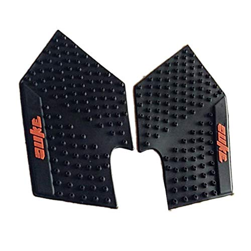 Emily Motorcycle Tank Side Gas Pad Grips Protector for KTM Duke 390 200 125 DUKE125 Black