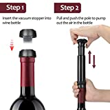 Wine Air Pressure Pump Opener Set, Tirrinia Wine