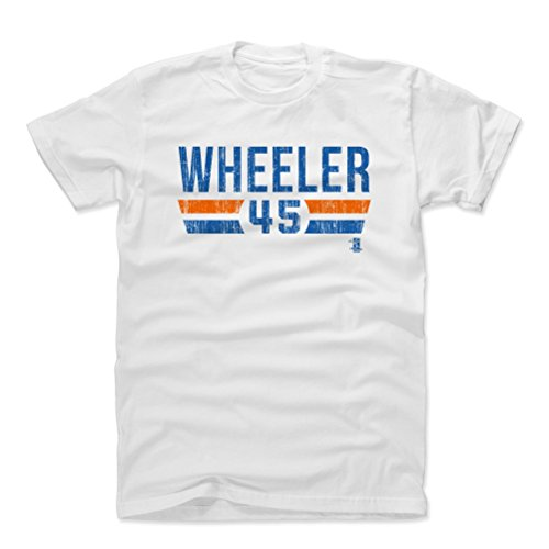 500 LEVEL Zack Wheeler Cotton Shirt X-Large White - New York Baseball Men's Apparel - Zack Wheeler New York Font B