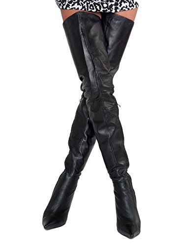 Damen Overknee Long Stiletto Stiefel Roma Arollo HwBqC6q