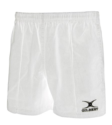 (Gilbert Men's Short Kiwi Pro 4XL White)
