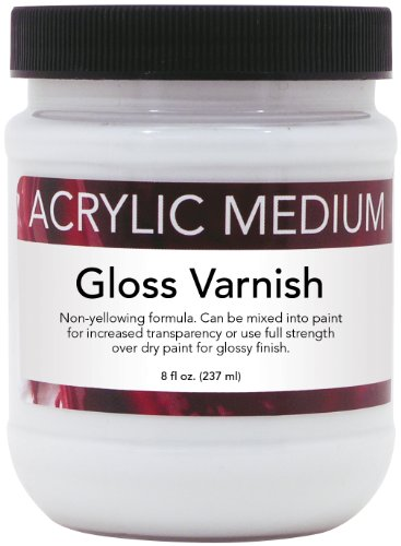 Art Advantage 8-Ounce Acrylic Gloss Varnish