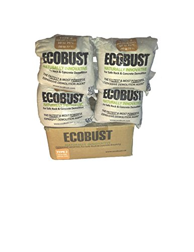 Ecobust USA EB244 Type 2 Power Drill Expansive Mortar, Pack of 4 (Package May Vary)