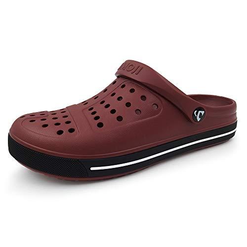 Amoji Unisex Garden Clogs Slip On Shoes CL1820