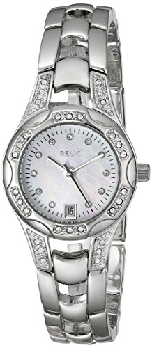 Relic Women's ZR12055 Charlotte Silver-Tone Watch