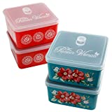 The Pioneer Woman Container Set (Square 70-ounce - Set of 4)