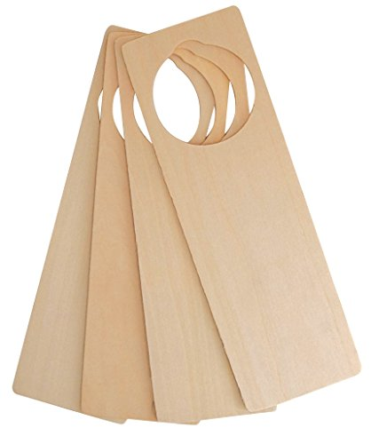 - Hygloss Products Wooden Door Knob Hanger - Natural Unfinished Wood For Arts And Crafts, 50 Pack