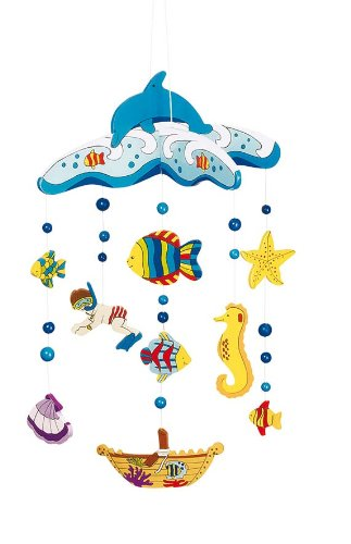 Goki Mobile Underwater World Hanging Toy 52970