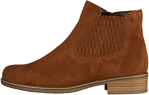 Gabor Shoes Comfort Sport, Botas Chelsea para Mujer Marrón (41 Whisky Micro)