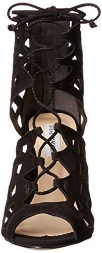 Steve Madden Sedduce vestido de la sandalia Black nubuck