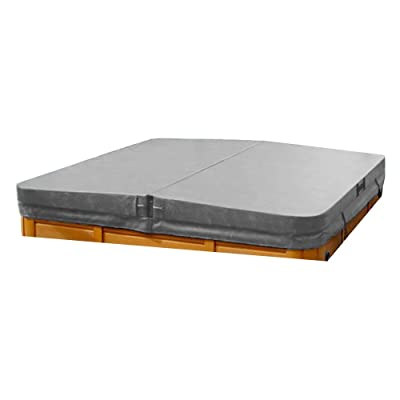 "The Cover Guy Standard 4"" Replacement Hot Tub Spa Cover LA Spa 83x83 - Grey : Garden & Outdoor"