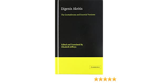 Digenis Akritas Ebook Download