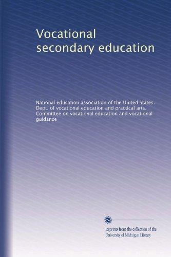 Vocational secondary education