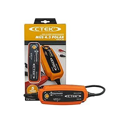 CTEK (56-958) MUS 4.3 POLAR 12 Volt Fully Automatic Extreme Climate 8 Step Battery Charger: Automotive