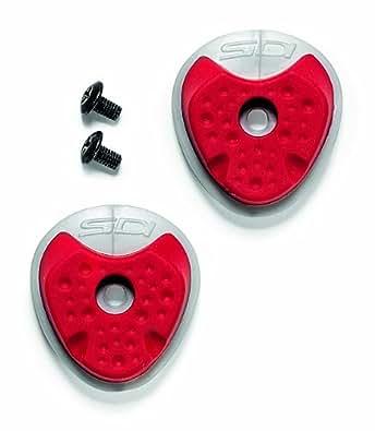 Sidi Rubber Heel Pad (Millenium 2 Sole) Red/Grey Size