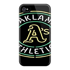 New Iphone 4/4s Case Cover Casing(oakland Athletics)