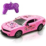 Pink Remote Control Racing Car Toy for Girls Toddlers Kids Birthday Christmas Party Gifts - Great RC Gift