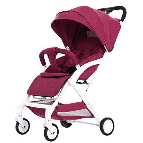 TYUIO Baby Stroller Pram Baby Carriage Reclining Seat for Airplane Compartment (Color : Style B)