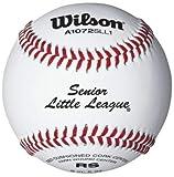 Wilson A1072 Senior Little League Series Baseball (12-Pack), White
