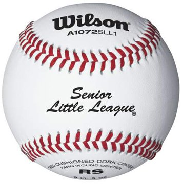 Wilson little league raised seam baseball 12 pack