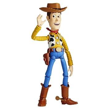4ffe8b8e7f136 Walt Disney Toy Story  SCI-FI Revoltech No. 010 Woody Action Figure (japan  import)  Amazon.es  Juguetes y juegos