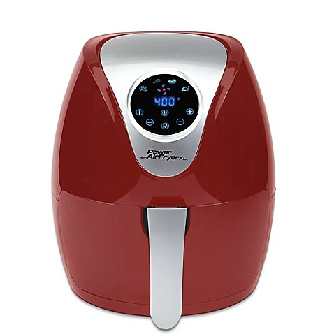 2 4 Qt  Power Air Fryer Xl In Red