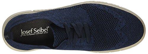 Josef Seibel Herren Falko Knitted 13 Sneaker Blau (Blau)