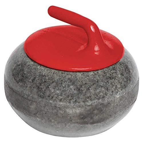 Miniature Granite Curling Rock: Red