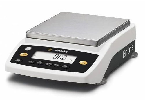 "Sartorius Entris 6202-1S Lab Balance, Precision Scale 6200x0.01g,External Cal,Pan 11.9""x9.1"",2 Year Warranty,Brand New"