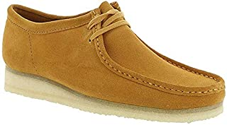CLARKS Men's Wallabee Suede Shoes, Tumeric, Orange, 10-10.5 Medium US (B07G478XBB) | Amazon price tracker / tracking, Amazon price history charts, Amazon price watches, Amazon price drop alerts